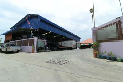 For SaleFactorySamrong, Samut Prakan : Chiller machine factory sale with a single house, Bang Phli Yai, Samut Prakan Province