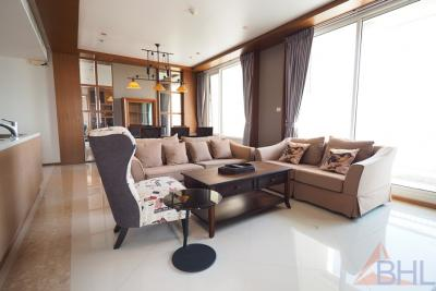 For RentCondoSathorn, Narathiwat : For rent The Empire Place, 3 Bedroom 3 Bathroom, 164 SQM., Fully Furnished