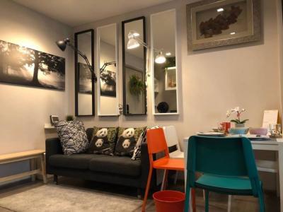 For RentCondoRattanathibet, Sanambinna : For rent, politan rive condo, floor 42, size 31 sq.m., fully furnished, river view.