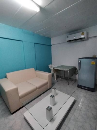 เช่าคอนโดลาดพร้าว101 แฮปปี้แลนด์ : ให้เช่าคอนโด HR Residence แฮปปี้แลนด์ ตึก M ชั้น 6 แอร์ติดใหม่