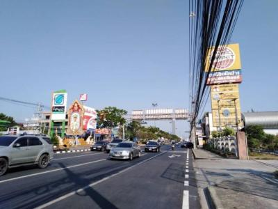 For SaleLandRayong : Urgent sale! Land in the heart of Rayong Next to Sukhumvit 307.4 sq. Wah. Good location near Home Pro, Laemthong