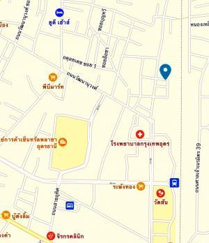 ขายที่ดินอุดรธานี : ขายที่ดิน ในมืองอุดรธานี ติดถนนทองใหญ่ 2 ไร่ 40x80 เมตร ใกล้เซ็นทรัล โรงพยาบาลกรุงเทพ