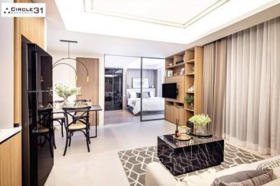 For SaleCondoSukhumvit, Asoke, Thonglor : ++ Urgent sale ++ Circle Sukhumvit 31 ** 1 bedroom 46 sq m, 2nd floor