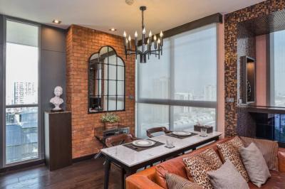 ขายคอนโดราชเทวี พญาไท : ขาย Ideo Q Phayathai (ไอดีโอ คิว พญาไท) Duplex ห้องสวย แต่งแล้ว