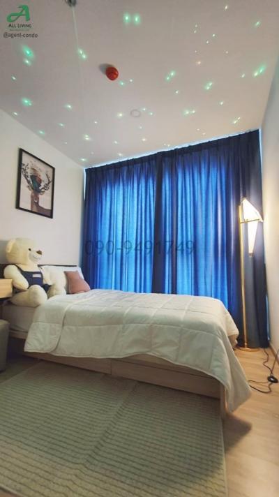 For RentCondoBangna, Lasalle, Bearing : Ideo O2 condo for rent near BTS Bang Na pool view corner room