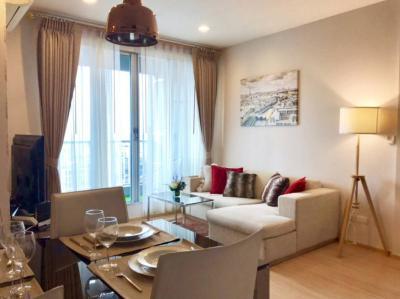 For RentCondoOnnut, Udomsuk : FOR RENT !!! Rhythm Sukhumvit 50, 2 bed, high floor, beautiful river view