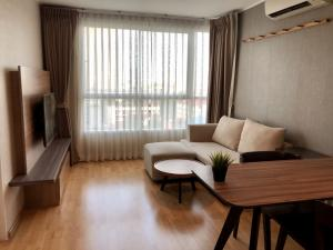 For RentCondoPattanakan, Srinakarin : Condo for rent, U Delight Residence Phatthanakan, room 35 sq.m., east, head north Fully furnished (Ready to move in)
