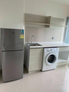For RentCondoLadprao101, The Mall Bang Kapi : For rent, Aspire Ladprao 1 bedroom, 1 bathroom, 30 sq.m., price 9,000 baht, please contact 0654649497