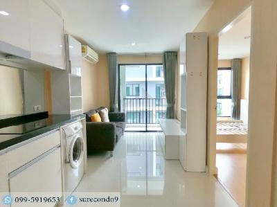 For SaleCondoRatchadapisek, Huaikwang, Suttisan : 0424-Y😊😍 For RENT & SELL ให้เช่าและขาย 1 ห้องนอน🚄ใกล้ MRT ห้วยขวาง🏢เมโทร สกาย รัชดา Metro Sky Ratchada🔔พื้นที่:30.00ตร.ม.💲ราคาเช่า:12,000.-บาท 💲ราคาขาย:2,650,000.-บาท 📞นัดชมห้อง:099-5919653 ✅LineID:@sureresidence