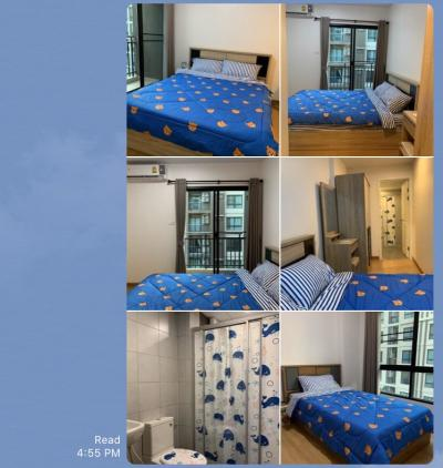 ขายคอนโดบางนา แบริ่ง : Sell/rent 2นอน 2น้ำ พร้อมอยู่(owner)ตึกA