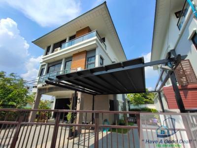 ขายบ้านลาดพร้าว101 แฮปปี้แลนด์ : บ้านเดี่ยว 3 ชั้น 100 ตร.วา ศุภาลัย เอสเซ้นส์ ลาดพร้าว 107