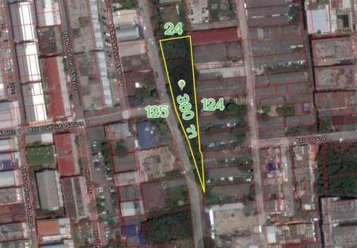ขายที่ดินรามคำแหง หัวหมาก : ขายที่ดินถมแล้ว ซ.มหาดไทย (ลาดพร้าว 122) 380 ตรว.(ติดทรัพย์)