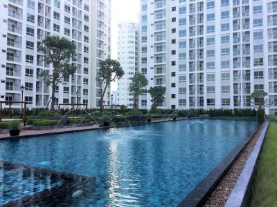 For RentCondoRatchadapisek, Huaikwang, Suttisan : Condo for rent Supalai Wellington 2 (Supalai Wellington 2), very good location, Ratchada Rama 9, large room, high floor, affordable price.