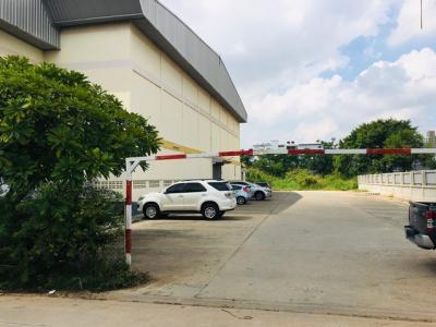 เช่าโกดังบางนา แบริ่ง : RK025ให้เช่าอาคารขนาดใหญ่บนที่ดิน 3 ไร่ พื้นที่ใช้สอย 2,000 ตร.ม. ลาซาล 53 ใกล้สถานีรถไฟฟ้าแบริ่ง