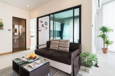 For SaleCondoBangkruai, Ratchapruek : Great value condo in the mall area And BTS Pink Line installment payment of 10 baht per million. Limited amount. I am unable to refund 0909897810.