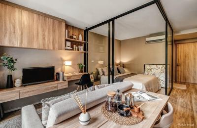 For SaleCondoSathorn, Narathiwat : Condo for sale !! Blossom condo @ Sathorn - Charoenrat 1 bedroom 30 sqm. Special price !! 2,599,999 baht