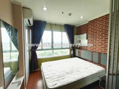 For SaleCondoRattanathibet, Sanambinna : 🔥🔥 Condo for sale and rent, ready to move in, cheap price !! Lumpini Park Rattanathibet 1 Bed 23 sq m, 16th floor, Building D, only 1.79 million baht 🔥🔥