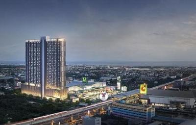 Sale DownCondoSamrong, Samut Prakan : Sell down payment The president Phraeksa condo next to Phraeksa BTS *** expected to be completed at the end of this year
