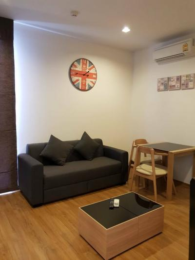 For SaleCondoOnnut, Udomsuk : M2171-Condo For Rent Hasu House Sukhumvit 77, ready to move in !! With furniture + appliances + washing machine