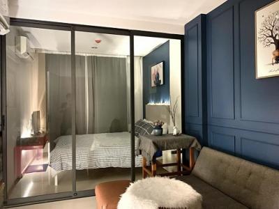 ขายคอนโดบางซื่อ วงศ์สว่าง เตาปูน : ด่วน!! ขายห้องสวย พร้อมอยู่!! คอนโด เดอะ ทรี พริวาต้า 1 ห้องนอน 27 ตร.ม. ตึก C ห้องสวย พร้อมเฟอร์ Tel.086-5579898