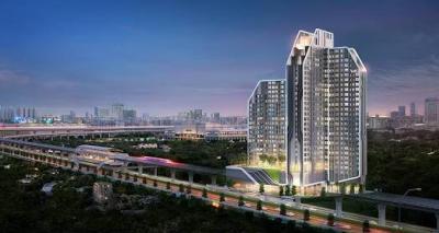 เช่าคอนโดบางนา แบริ่ง : *ดีลสุดพิเศษ !!! คอนโดสวยให้เช่า พร้อม Skyline View หิ้วกระเป๋าพร้อมอยู่ได้เลย ที่ Ideo Mobi Sukhumvit Eastgate เดินทางง่าย ติดรถไฟฟ้า BTS บางนา - BITEC Bangna