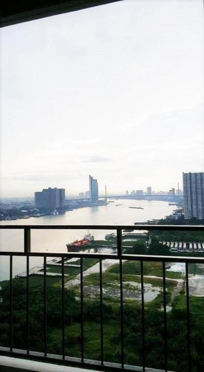 For RentCondoRama3 (Riverside),Satupadit : Condo for rent, U Delight Rama 3 ** River view ** 1 bedroom, 1 bathroom, 23rd floor, fully furnished, ready to move in, priced at only 13,000 baht