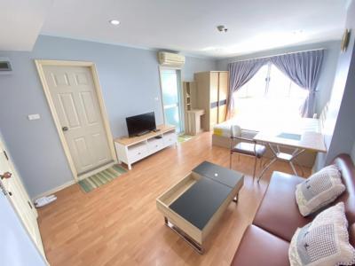 For RentCondoRamkhamhaeng, Hua Mak : For rent, Lumpini Ville Ramkhamhaeng 44 31 sqm. Floor 20, Building B 7500 baht 064-9598900