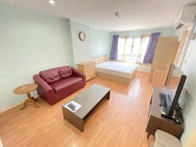 For RentCondoRamkhamhaeng, Hua Mak : For rent, Lumpini Ville Ramkhamhaeng 44 31 sqm. Floor 20, Building B 7,000 baht 064-9598900