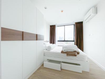 For RentCondoKasetsart, Ratchayothin : 🔥Hot Area!! For Rent Vino Ratchada32 near MRT Ladprao & BTS Ratchayothin Fully furnished 1 Bed 1 Bath