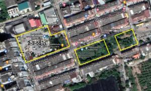For SaleLandBang kae, Phetkasem : Land for sale in Bang Khae Soi 10 (Soi Damrong 3) 4 Rai 3 Ngan 55 Trw.