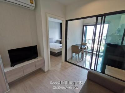For RentCondoBangkruai, Ratchapruek : Condo for rent at Dcon prime Rattanathibet, fully furnished, ready to move in, close to MRT Sai Ma