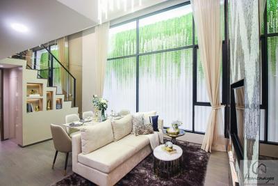 ขายคอนโดราชเทวี พญาไท : ขายขาดทุน Loft ห้องใหญ่ 2 นอน 2 น้ำ ห้องมุม ชั้นสูง ราคาดีที่สุด Park Origin ราชเทวี