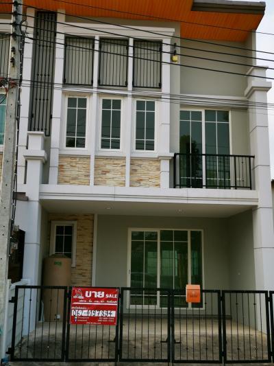 For SaleTownhouseRathburana, Suksawat : Townhouse Golden Town 2 Bang Pakok ready to move in