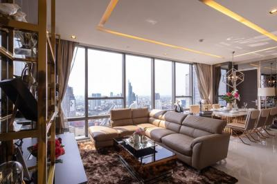 For RentCondoSathorn, Narathiwat : For Rent ** The Bangkok Sathorn 2 Bed / 2 Bath, Super Luxury, Ready to move in **