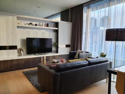 For RentCondoSilom, Saladaeng, Bangrak : For Rent ** Saladaeng One, Beautiful decoration, High floor, Great view, Ready to move in **