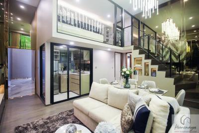 For SaleCondoRatchathewi,Phayathai : Loft Large 2 Bedroom 2 Bathroom Corner Unit High Floor Best Price Park Origin Ratchathewi