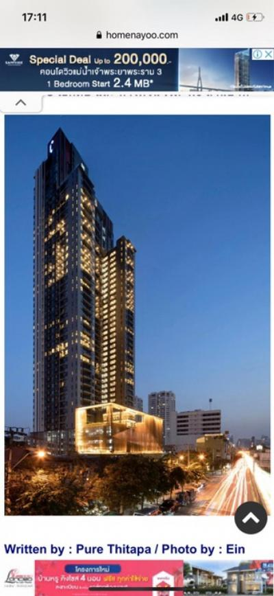 For SaleCondoSukhumvit, Asoke, Thonglor : Reduced brutality, like angry, uncle, the last room, the view is not blocked, good price