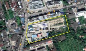 For SaleLandBang kae, Phetkasem : Land for sale 8 Rai 3 Ngan 55.5 Sq. Bang Khae-Terdthai Road (next property)