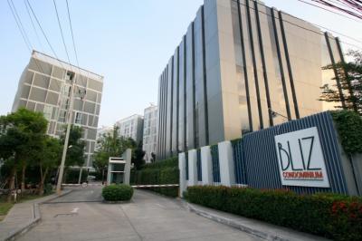 For SaleCondoPattanakan, Srinakarin : Good Deal!! Bliz Condominium for sale - Rama 9-Srinakarin – 29.26 sq.m. 1 bed nearby Airportlink Hua Mak