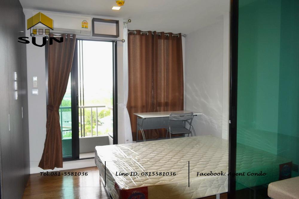 For RentCondoNawamin, Ramindra : For rent ESTA BLISS CONDO [Esta Blitz] - Ramintra Pink Line near BTS Setthabutra Station - Room size 23 sq.m., Building B, Floor 6 - 1 bedroom, 1 bathroom
