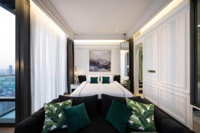 For RentCondoSilom, Saladaeng, Bangrak : For Rent ** ASHTON Silom - Ashton Silom, very beautiful decorated, high floor, best view **