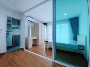 For RentCondoBang Sue, Wong Sawang : (Agent post) Beautiful new room for rent! #Regent Condo Phase 27, Building D, 10th floor, open air view, full electrical appliances There is a washing machine! New room, great value, first booking first
