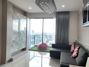 For SaleCondoRama3 (Riverside),Satupadit : ** Corner room for sale ** Condo Star View (Star View) Rama 3 2 bedrooms, 2 bathrooms, size 77 sqm, corner room, beautiful view, fully furnished, only 8.8 million.