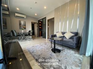 For RentCondoRama9, RCA, Petchaburi : For rent‼️2 bedrooms, beautiful decoration at Ideo Mobi Asoke, near SWU, MRT Phetchaburi, contact 0946949544.