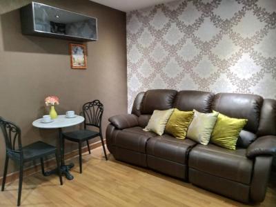 For RentCondoOnnut, Udomsuk : M2359-For Rent Condo Regent Home Sukhumvit 81 Pool View + washing machine