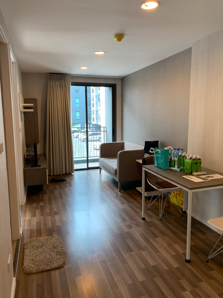 For RentCondoRamkhamhaeng, Hua Mak : Condo For Rent Living Nest Ramkhamhaeng ( 37 square metres )