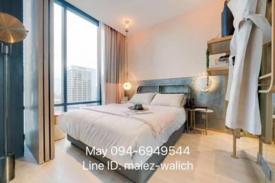 For SaleCondoSilom, Saladaeng, Bangrak : RARE Unit‼️1 bedroom new unit Luxury Residence on Silom road, near BTS Chong Nonsi, contact 0946949544.