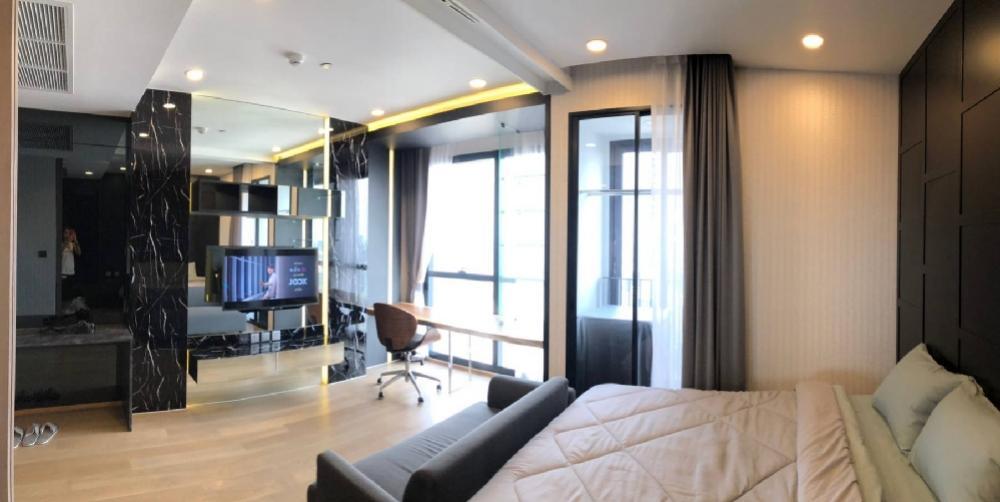 ขายคอนโดสยาม จุฬา สามย่าน : ขายด่วน คอนโดแอชตัน จุฬา-สีลม 1 ห้องนอน ชั้น 47 31.1 ตรม. พร้อมเฟอร์ วิวสวยมาก ติด MRT สามย่าน