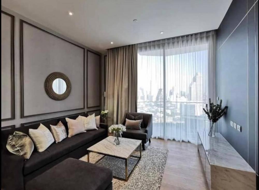 เช่าคอนโดวงเวียนใหญ่ เจริญนคร : +++เช่าด่วน+++ ห้องสวย*** Magnolias waterfront Residences  **  2 ห้องนอน 102.72 ตรม.ชั้น 24 แต่งครบพร้อมเข้าอยู่