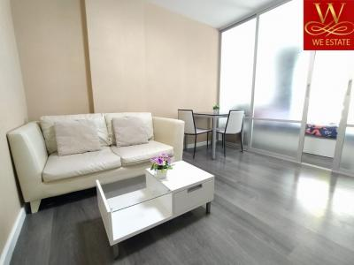 For RentCondoPattaya, Bangsaen, Chonburi : For rent, D Condo Campus Resort Bangsaen, near Burapha University, near the mall, pool view